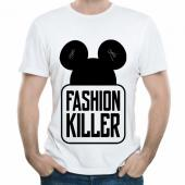 "Мужская футболка ""Fashion killer"" с принтом"