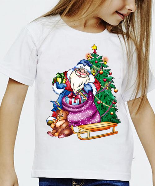 это картинки на футболки новогодние столы дерева