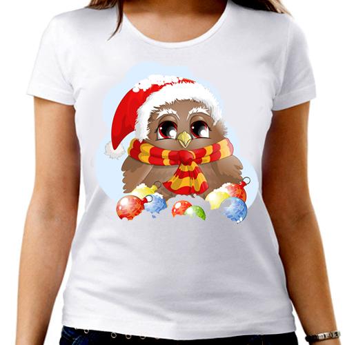 Новогодняя футболка